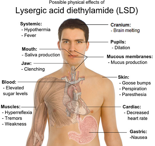LSD Effects - Physical Psychological Sensory Spiritual